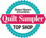 Creations is featured in the 2019 Quilt Sampler magazine.